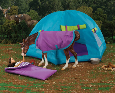 Camping with a Horse